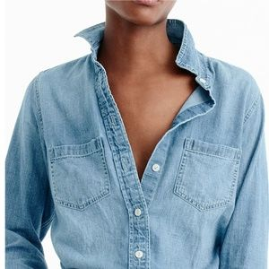 J. Crew Everyday Chambray Shirt